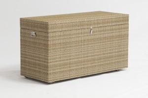 PECHORA Alum. Rattan Cushion  Box 165x65x90cm 100% Waterproof China Outdoor Factory
