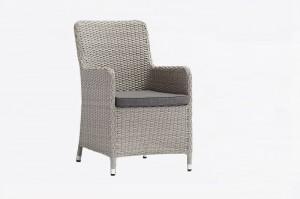 Outdoor Garden Patio Furniture China Factory DATURA Alum. Wicker Dining Chair Classic