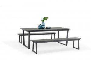 Wholesale Dealers ofSteel Garden Set Rattan Lounge- Outdoor Furniture Manufacture HAGEN Full Alum. Dining Set – Jacrea