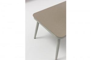 ST. MORITZ New Design Hot Sale Aluminium Rubber Rope Lounge Sofa Set K/D Outdoor Garden Patio Funiture China Factory Supplies
