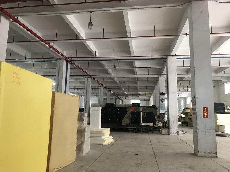 Jacrea team visting sponge factory of  outdoor cushion (5)