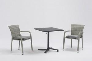 Outdoor Furniture LARACHE Dining 3pcs Set