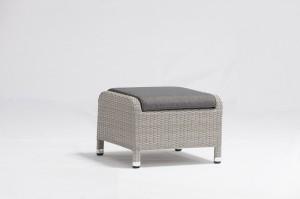 Classic Outdoor Furniture LAGAN Alum. Wicker Air Pump Lounge Set Position Adjustable
