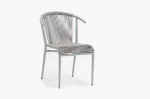 Outdoor Furniture MOLINARD Alum. Rope Chair