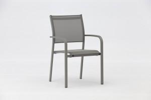POSEI Aluminium Textilene Chair Outdoor Garden Patio Furniture China Factory Supplies