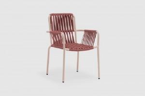 Rigi alum. rope chair carton packing 4pcs/ctn