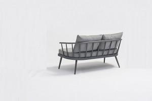 Garden Outdoor Furniture TABRIZ  Full Alum. Lounge 4pcs Set K/D In One Box Packing Mail Order Internet Selling