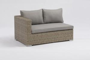 SHUMEN Aluminium Rattan Corner Lounge Set Modular Sectional Sofa Outdoor Garden Patio Furniture China Factory Supplies
