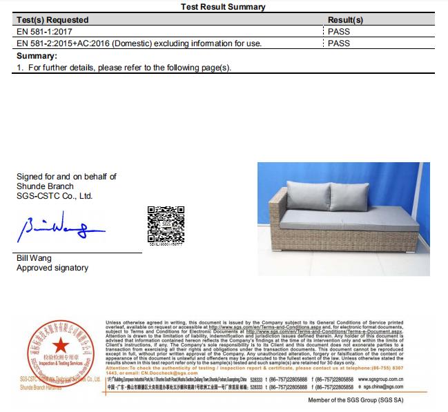 shumen lounge test report